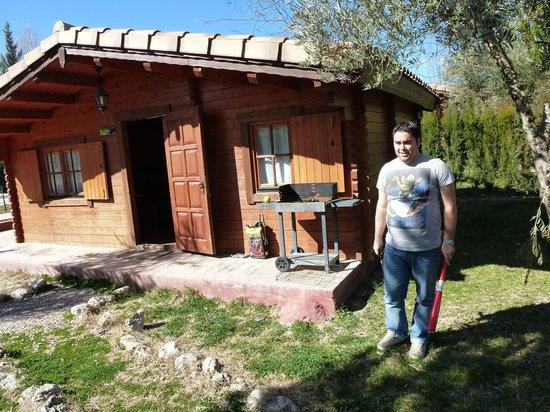 Caserio de la Fuente: exterior de las cabañas
