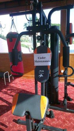 Harmony Makadi Bay Hotel & Resort: Доломанные спортивные тренажеры!
