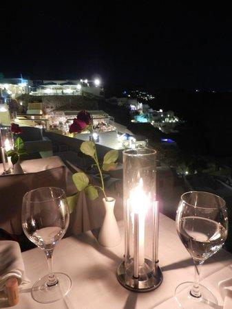 Ambrosia Restaurant: Vista da nossa mesa