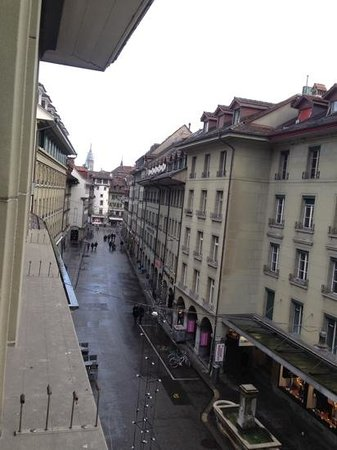 Hotel Savoy Bern: view from our room!