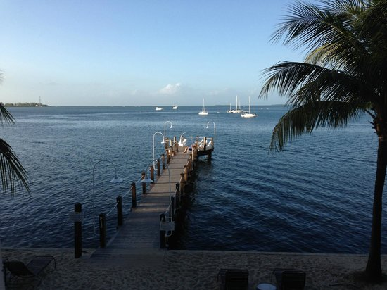 Key West Marriott Beachside Hotel: View of the Bay from my room