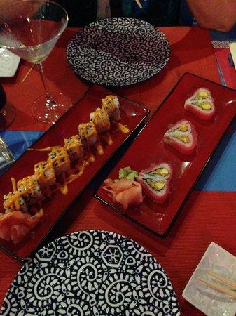 Nayara Resort Spa & Gardens: Sushi