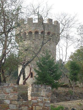 Castello di Amorosa : Tower