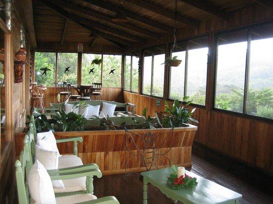 Monteverde Cloud Forest Lodge : Terrace