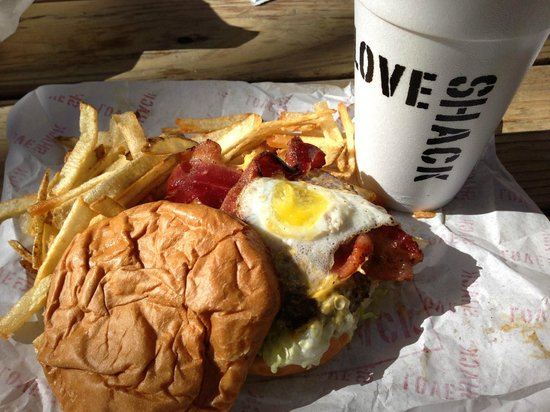 """Love Shack: The """"Dirty Love Burger"""" = AWESOME!"""