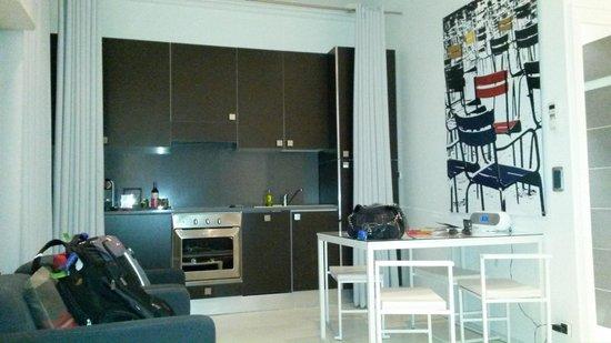 Residence & Spa Le Prince Regent: Cozinha