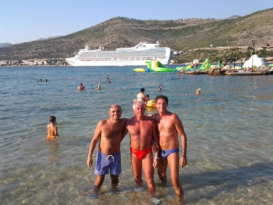 3 amiconi a copacabana beach!