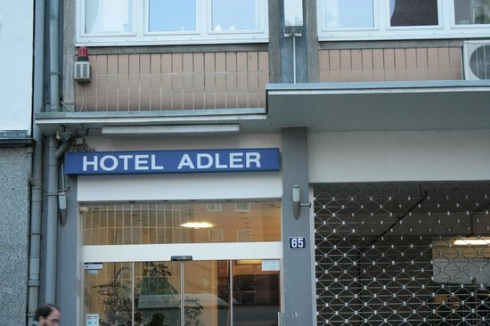 Hotel Adler: Fachada