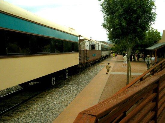 Verde Canyon Railroad: The Verde Canyon train