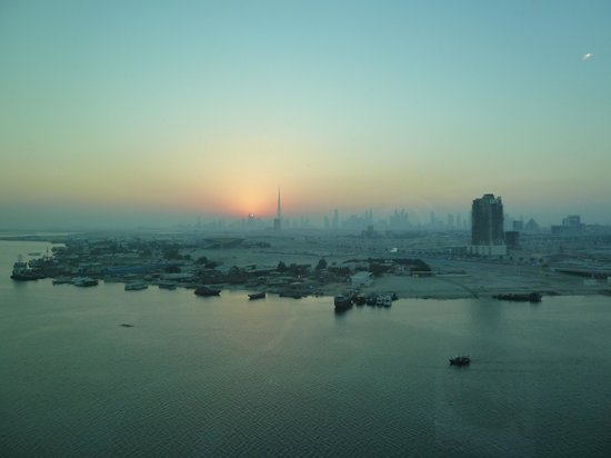 Crowne Plaza Dubai Festival City: Room with a view