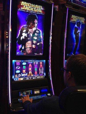 Seminole Hard Rock Hollywood Casino : Michael Jackson Automat