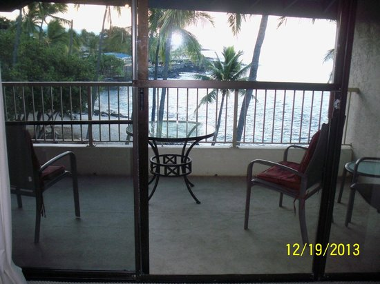 Kona Reef Resort: Lanai