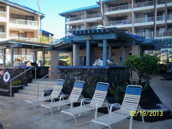 Kona Reef Resort: Barbecue Area