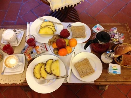 Soggiorno Panerai: colazione in camera
