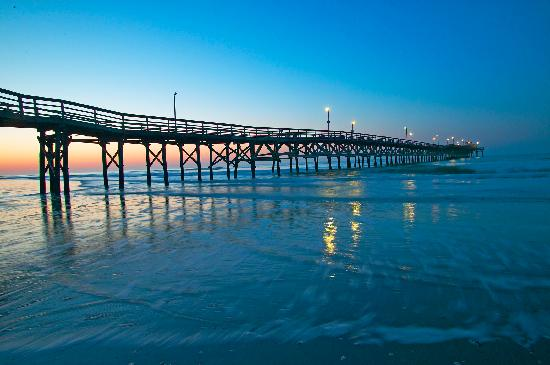 North Myrtle Beach, SC: Catch prize winning fish on the Cherry Grove Pier.