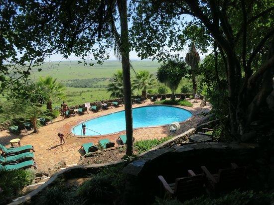 Mara Serena Safari Lodge : Pool