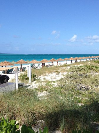 The Sands at Grace Bay : View from Hemingway's