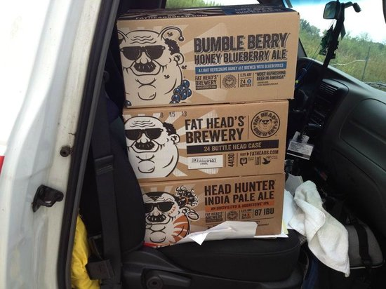 Fat Head's Brewery and Tap House: Beer to go
