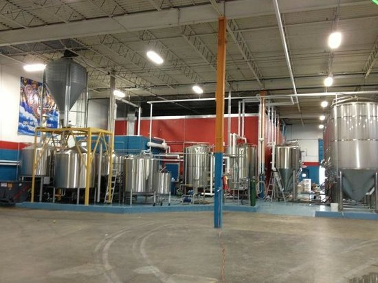 Fat Head's Brewery and Tap House: Brewery Platform