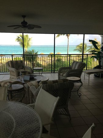 Sands at Grace Bay: The gorgeous wrap around porch