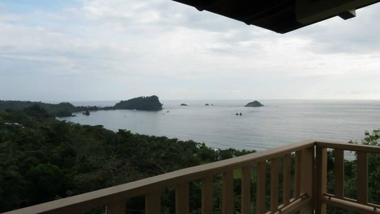Hotel Costa Verde: View from porch at B-12