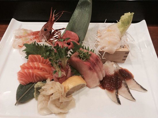 Fuji Restaurant: A sashimi plate made with love by Jack
