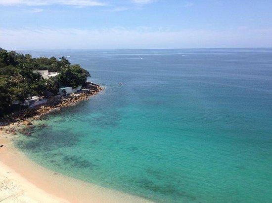 Park Royal Puerto Vallarta: Vista de la playa desde la recepción !!!