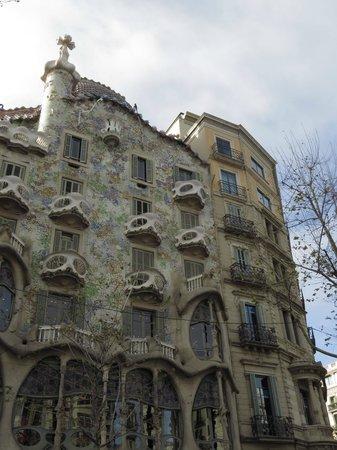 Runner Bean Tours Barcelona: Casa Batlló