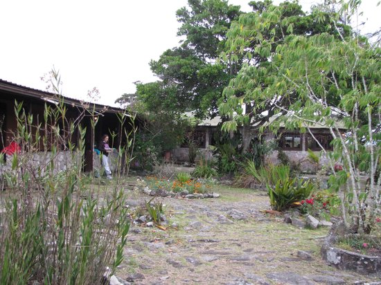 Campamento Chivaton : el frente del hospedaje