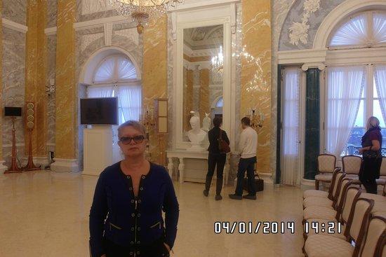 The National Congress Palace (Constantine Palace): Один из залов дворца