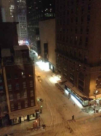 Hampton Inn Manhattan-Times Square North: view from room 904