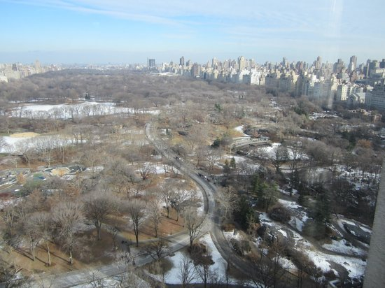 JW Marriott Essex House New York : Day view of Central Park from our room