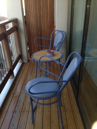 New Hotel: balcony