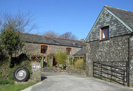West Woolley Farm: Entrance to West Woolley
