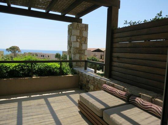 The Westin Resort, Costa Navarino: Βεραντα