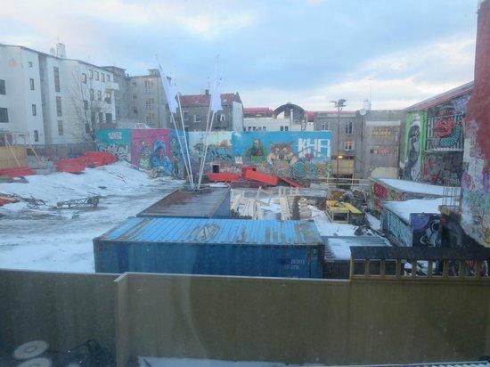 CenterHotel Klopp: Building site to the rear