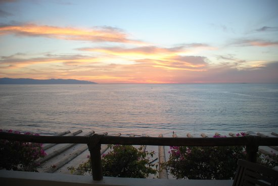 Grand Velas Riviera Nayarit : Sunset from our balcony