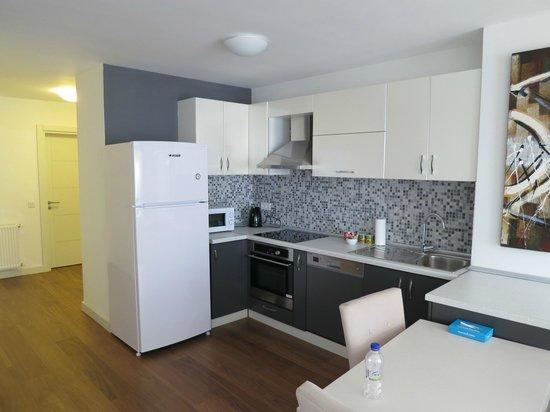 Turkuaz Suites Bosphorus: Κουζινα