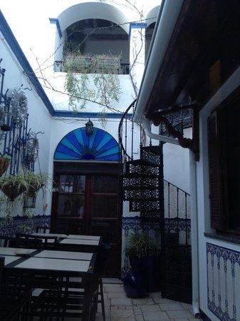 La Casa Noble : Outside the Salon
