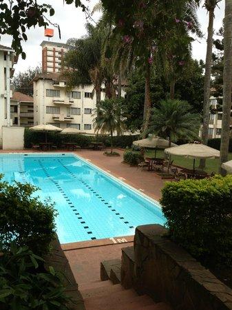 Kivi Milimani Hotel: Nice pool area