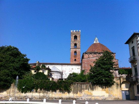 Chiesa e Battistero di San Giovanni e Santa Reparata : Abside di San Giovanni e Santa Reparata a Lucca