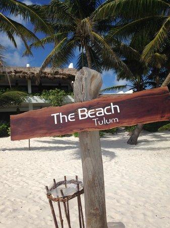The Beach Tulum: On the beach