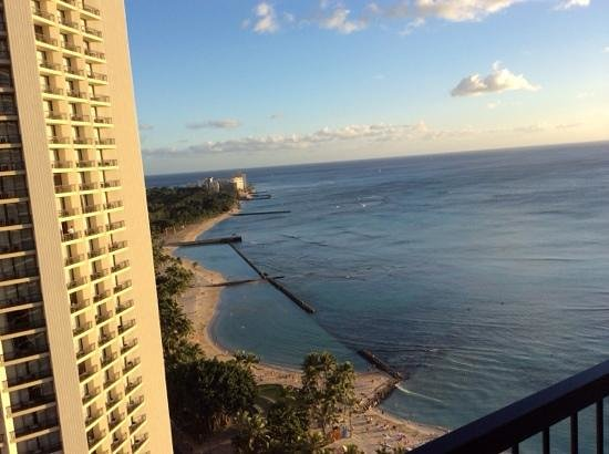 Hyatt Regency Waikiki Resort & Spa : not bad, eh?
