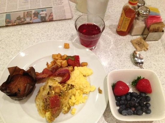 The Curtis Denver - a DoubleTree by Hilton Hotel: My breakfast choices