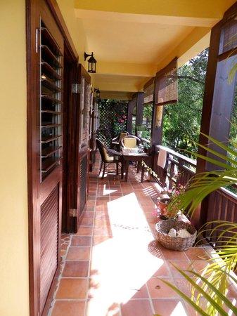 Villa Pomme d'Amour: Balcon tout à moi