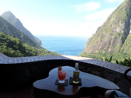 Villa Pomme d'Amour: Laderra, un endroit magique pour prendre un appéritif