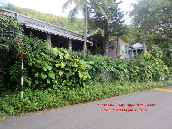 Roadside View of the Sugar Mill Hotel