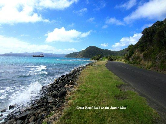 Sugar Mill Hotel : Beautiful drive along the coast.