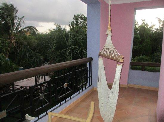 Iberostar Paraiso Maya : Large balcony, corner room