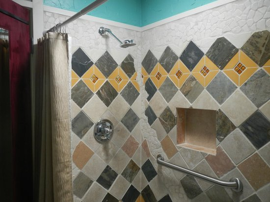 Casa Del Campo Guest House Gold Country Bathroom Original Recycled Tile Design